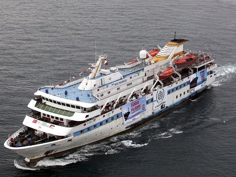 Mavi Marmara Gemisinde Gıyabi cenaze namazı