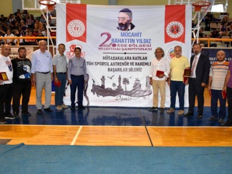Bahattin YILDIZ 2. Ege Bölge Muaythai Şampiyonası