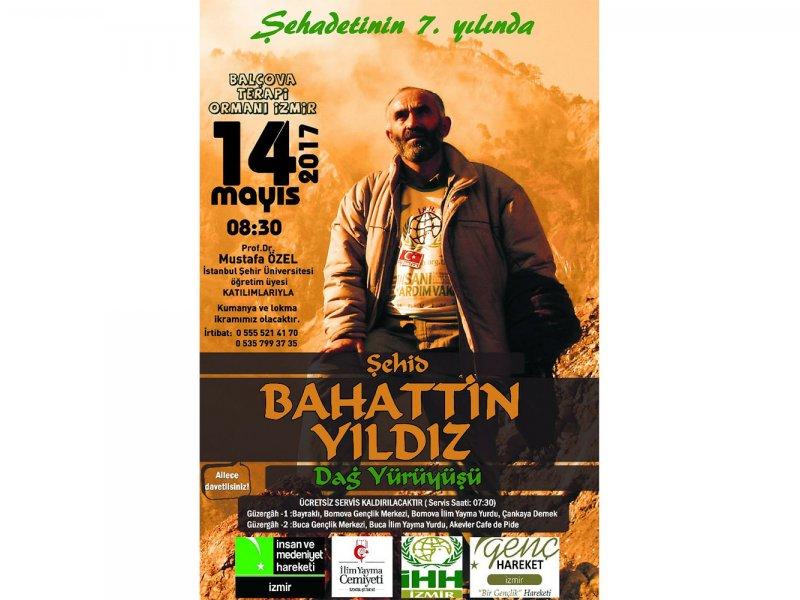 14.05.2017-Şehid Bahattİn YILDIZ Dağ Yürüyüşü 2017