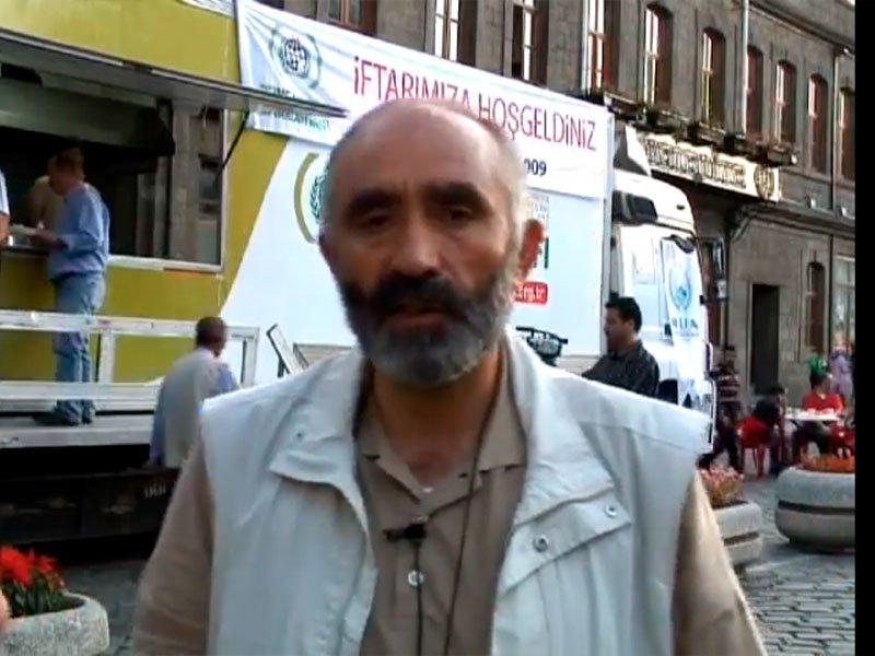 Bahattin Ağabey Trabzon İftar Çadırı Röportaj