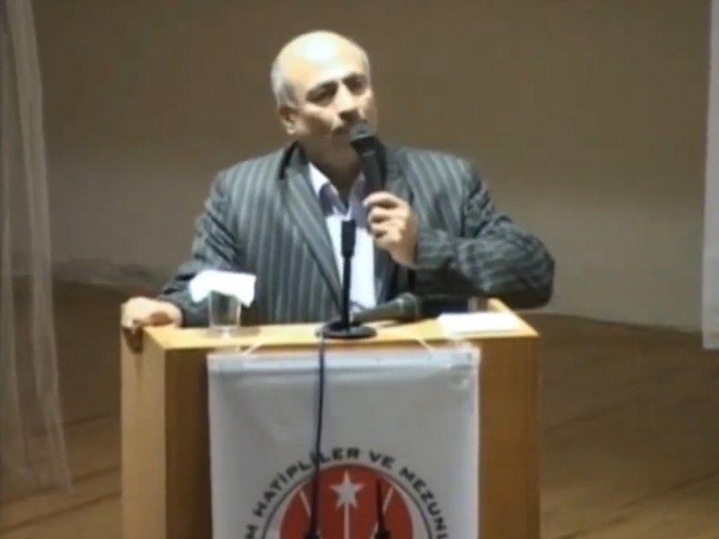 Arif ALTUNBAŞ, Bahattin YILDIZ'ı anlattı.