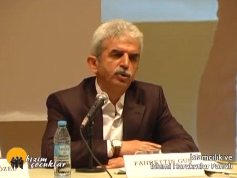 Fahrettin GÜN - İslamcılık ve İslami Hareketler Paneli