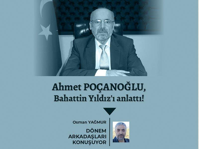 Ahmet POÇANOĞLU ile Söyleşi