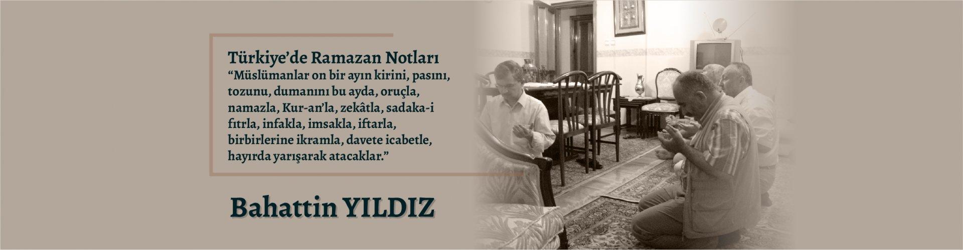 Türkiyede ramazan notları