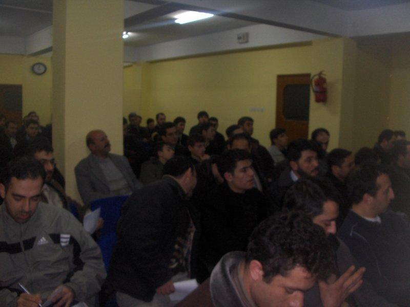 Pakistan Depremi Sonrası Sunum - Bursa